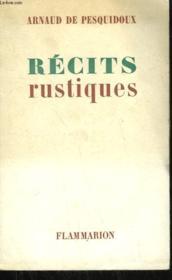 Recits Rustiques. - Couverture - Format classique