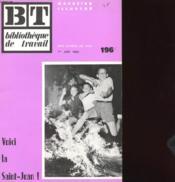 Bibliotheque De Travail N°196 - Voici La Saint-Jean ! - Couverture - Format classique