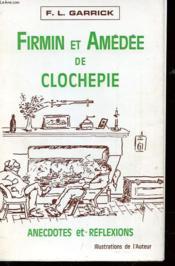 Firmin Et Amedee De Clochepie - Couverture - Format classique