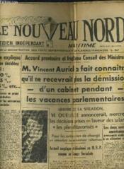 Le Nouveau Nord Maritime N°903 - 5eme Annee - Mardi 4 Octobre 1949. - Couverture - Format classique