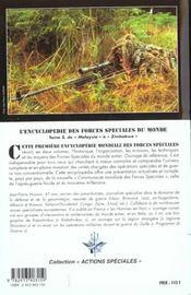 L'encyclopedie des forces speciales t.2 - 4ème de couverture - Format classique