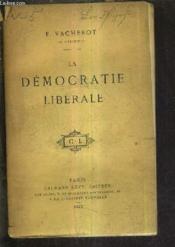 La Democratie Liberale. - Couverture - Format classique