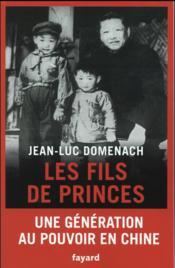 Les fils de prince - Couverture - Format classique
