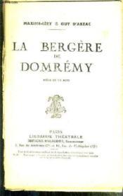 La Bergere De Domremy - Piece En Un Acte - Couverture - Format classique