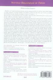 Principes directeurs du droit international prive et conflit de civilisations. volume 49 - 4ème de couverture - Format classique