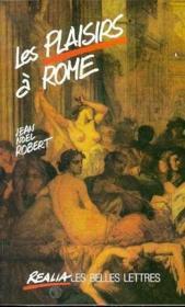 Plaisirs a rome - Couverture - Format classique