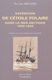 Expédition de l'étoile polaire dans la mer Arctique, 1899-1900 - Couverture - Format classique