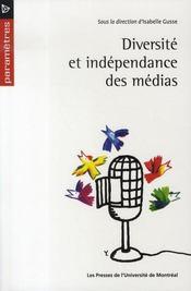 Diversité et indépendance des médias - Intérieur - Format classique