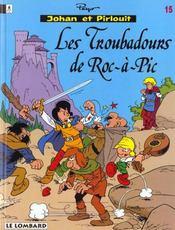 Johan et Pirlouit t.15 ; les troubadours de Roc-à-Pic - Intérieur - Format classique