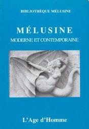 Melusine Moderne Et Contemporaine - Intérieur - Format classique