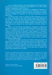 Melusine Moderne Et Contemporaine - 4ème de couverture - Format classique