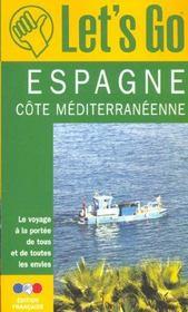 Espagne Cote Mediterraneenne ; Edition 2002 - Intérieur - Format classique
