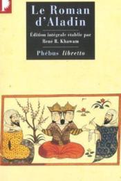 Le roman d'Aladin - Couverture - Format classique