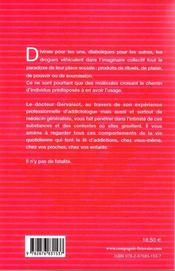 Pages ouvertes aux toxicomanes et à ceux qui les regardent - 4ème de couverture - Format classique