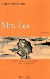 Mrs lee - Couverture - Format classique