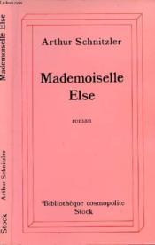 Mademoiselle Else - Couverture - Format classique