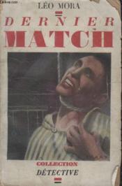 Collection Detective. Dernier Match. - Couverture - Format classique