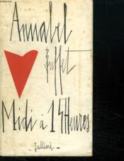 Midi A 14 Heures. - Couverture - Format classique