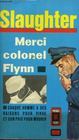 Merci Colonel Flynn - Couverture - Format classique