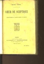 Coeur De Sceptique - Couverture - Format classique