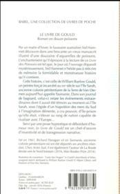 Le livre de Gould - 4ème de couverture - Format classique