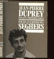 Jean-Pierre Duprey - Collection Poetes D'Aujourd'Hui N°212 - Couverture - Format classique