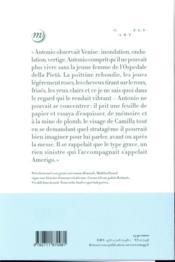 Désir pour désir ; Enard et Venise - 4ème de couverture - Format classique