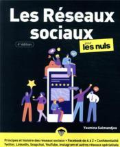 Les réseaux sociaux pour les nuls (4e édition) - Couverture - Format classique