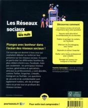 Les réseaux sociaux pour les nuls (4e édition) - 4ème de couverture - Format classique