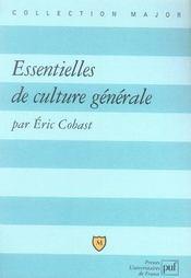 Essentielles de culture générale - Intérieur - Format classique