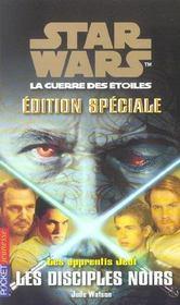 Les apprentis Jedi t.20 ; les disciples noirs - Intérieur - Format classique
