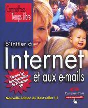 S'Initier A Internet Et Aux E-Mails - Intérieur - Format classique