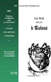Le Juif Selon Le Talmud - Couverture - Format classique