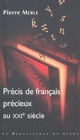 PRECIS DE FRANCAIS PRECIEUX DU XXIème SIECLE - Intérieur - Format classique