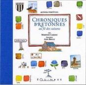Chroniques bretonnes au fil des saisons agenda perpetuel - Couverture - Format classique