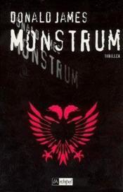 Monstrum - Couverture - Format classique