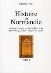 Histoire de Normandie t.2 - Couverture - Format classique