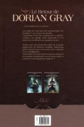 Le retour de Dorian Gray t.2 ; noir animal - 4ème de couverture - Format classique