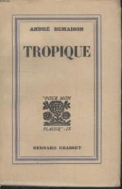 Tropique - Couverture - Format classique