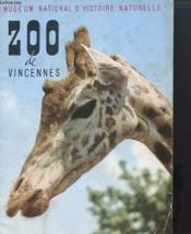 Zoo De Vincennes - Giude Officiel - Couverture - Format classique