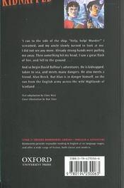 Kidnapped niveau: 3 - 4ème de couverture - Format classique