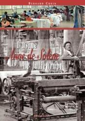 L'usine Anne de Solène de Julienrupt - Couverture - Format classique
