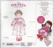 Les poupées en chiffon - 4ème de couverture - Format classique