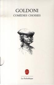 Comédies choisies - Couverture - Format classique