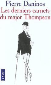 Les Derniers Carnets Du Major Thompson - Intérieur - Format classique