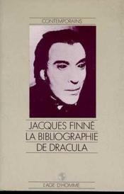 La Bibliographie De Dracula - Couverture - Format classique