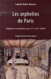 Les orphelins de paris - Intérieur - Format classique