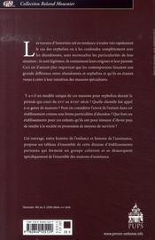 Les orphelins de paris - 4ème de couverture - Format classique