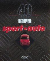 40 ans de voitures d'exception sport-auto - Intérieur - Format classique