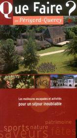 Que Faire En Perigord-Quercy ? - Intérieur - Format classique